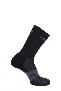 ponožky Salomon XA 2pack JR goji berry/black XSK 20/21