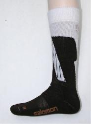 ponožky Salomon Dialogue brown/white