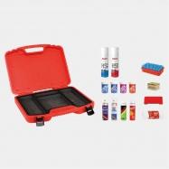 kufr SWIX T68F na vosky naplněný střední