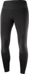 kalhoty Salomon Agile softshell tight W black 19/20