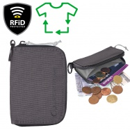 Lifeventure RFiD Coin Wallet Recycled grey