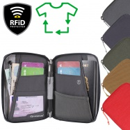 Lifeventure RFiD Mini Travel Wallet Recycled
