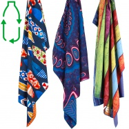 Lifeventure Printed SoftFibre Trek Towel Recycled