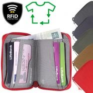 Lifeventure RFiD Bi-Fold Wallet Recycled