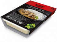 Expres menu KM Maso dvou barev, rýžové nudle