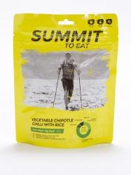 STE VEGETABLE CHIPOTLE CHILLI WITH RICE Big Pack Vegetariánské Jalapeno s rýží 217g/1003kcal
