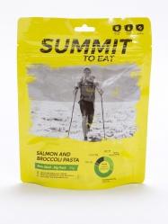 STE SALMON AND BROCCOLI PASTA Big Pack Losos s těstovinami a brokolicí 193g/1004kcal