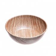 ALB COLLECTION WOOD ČESKÁ MISKA jídelní, antiadhez PTFE, design dřevo