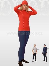 MOIRA DUO dámské spodky s dlouhou nohavicí doprodej modrá