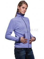 MOIRA Fleece dámská bunda zip DBZ1 světle fialová