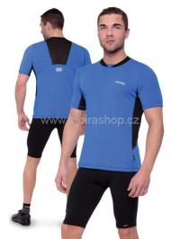 MOIRA Fresh Sport pánské triko krátký rukáv modrá černá