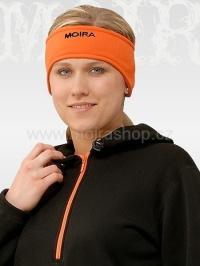 MOIRA Stretch čelenka oranžová