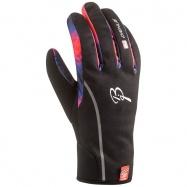rukavice BJ Warmest M černo/modro/oranžové