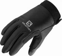 rukavice Salomon Nordic Junior black 15/16