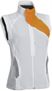 vesta Salomon Nova Softshell W white/orange