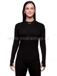 MOIRA THERMON dámské triko s dlouhým rukávem černá