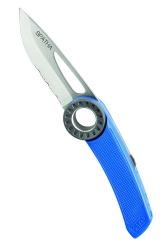 Petzl S 92 AB SPATHA nůž modrý