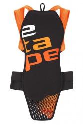 Etape - chránič páteře Back Pro, černá/oranžová