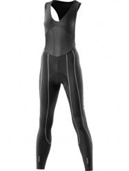 Skins Cyklo Pro dámské kompresní kalhoty dlouhé s laclem vel. S