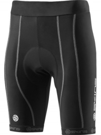 SKINS Cycle PRO Womens Black/Silver Shorts