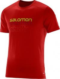 triko Salomon Cosmic logo SS M matador-X