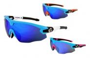 brýle HQBC Qert Plus modré 3 v 1