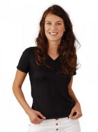 MOIRA SOFT dámské triko krátký rukáv DKR4 černá