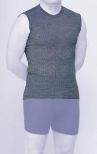 MOIRA MONO triko bez rukávů zelená perla