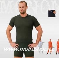 MOIRA MONO spodky s krátkou nohavicí zelená