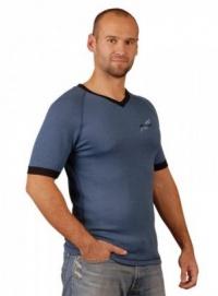 MOIRA SOFT KR6 pánské triko krátký rukáv denim