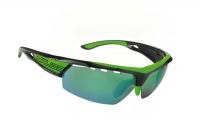 brýle SALICE 005RWB black-green/RW green/transpare