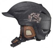 lyž.helma Salomon Patrol black