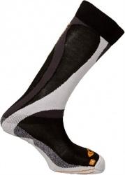 ponožky Salomon Enduro black/orange 11/12