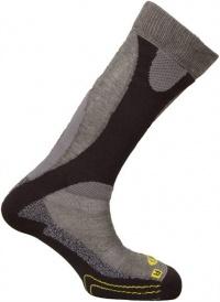 ponožky Salomon Enduro grey/yellow 11/12