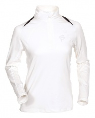 triko BJ Function Lady 1/2 zip white