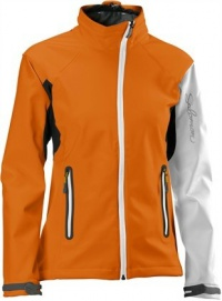 bunda Salomon Active Softshell W orange/white