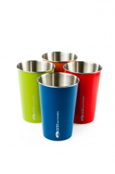 GSI Outdoors Glacier Stainless Pint Set 0,5l multi color