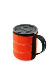 GSI Outdoors Infinity Backpacker Mug 500ml Orange
