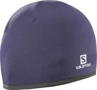 čepice Salomon Active warm nightshade/grey 16/17