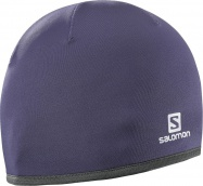 čepice Salomon Active warm nightshade/grey 16/17
