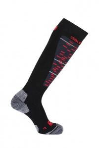 ponožky Salomon Mission black/matador-x