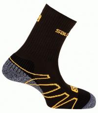 ponožky Salomon Eskape swamp/dark titanium/orange
