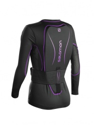 triko Salomon Secondskin Flexcell W black/purple L 16/