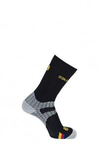 ponožky Salomon Nordic S-LAB EXO black/grey 16/17