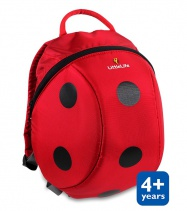 LittleLife Animal Kids Daysack 6l ladybird