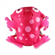 LittleLife Animal Swim Paks 10L Pink Frog