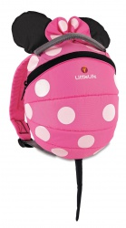 LittleLife Disney Toddler Daysack 2 L Pink Minnie