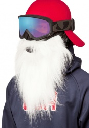 BEARDSKI Santa White