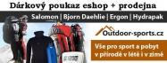 Dárkový poukaz 500 Kč pro eshop Outdoor-sports.cz