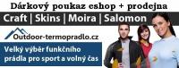 Dárkový poukaz 100 Kč pro eshop Outdoor-termopradlo.cz